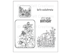 Heartfelt Creations Summer Song Cling Stamp