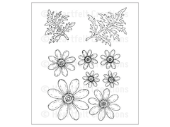 Heartfelt Creations Delightful Daisies Cling Stamp