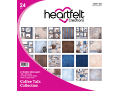 Heartfelt Collection Coffee Talk Collection 12 x 12 Paper Pad