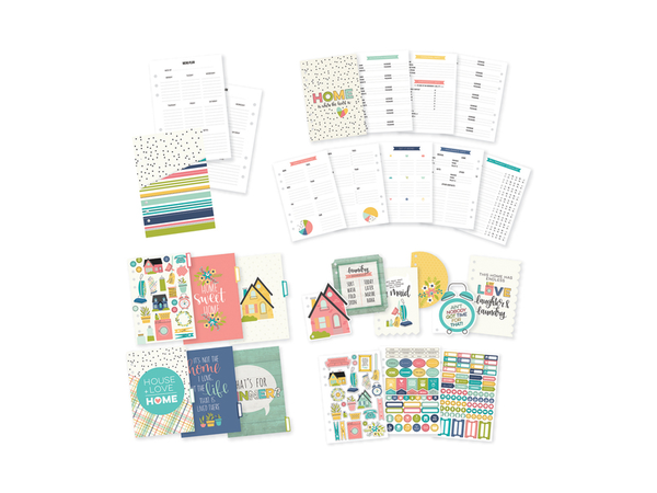 Simple Stories Carpe Diem Domestic Bliss Collection Planner Inserts