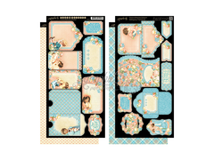 Graphic 45 Precious Moments Collection Tags and Pockets
