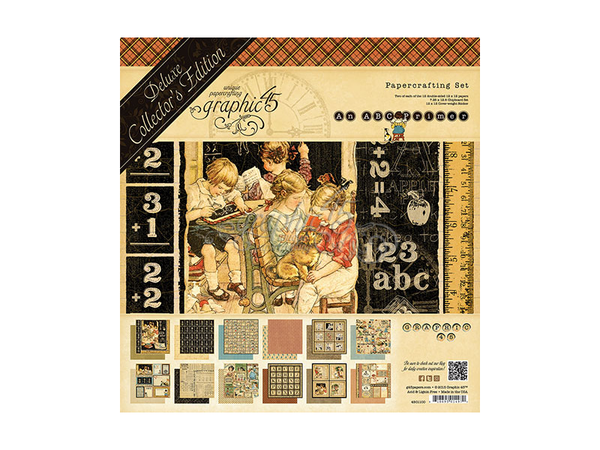Graphic 45 ABC Primer Collection Kit