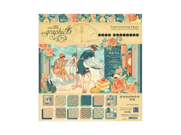 Graphic 45 Cafe Parisian Collection Paper Pads