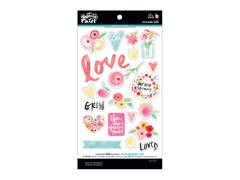 Bella Blvd Illustrated Faith Blooms Chipboard Icons