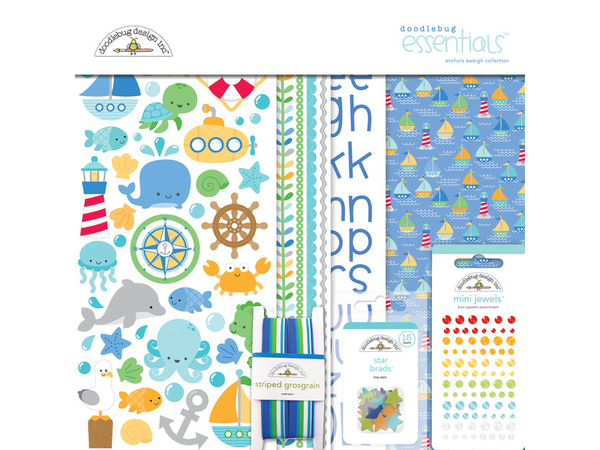 Doodlebug Designs Anchors Aweigh Essential Kit