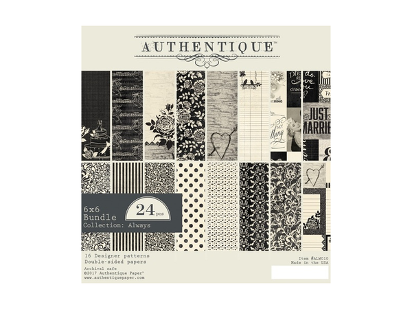 Authentique Always Collection Paper Pads