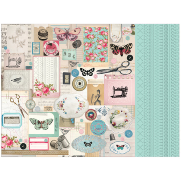 KaiserCraft Miss Betty Collection 12X12 Cardstock
