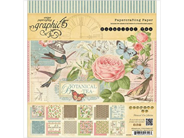 Graphic 45 Botanical Tea Deluxe Collector's Edition