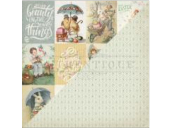 Authentique Jubilee Collection 12 x 12 Cardstock Cardstock