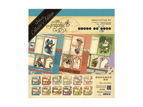 Graphic 45 A Place in Time Collection Kit