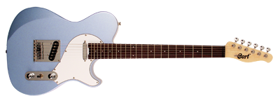 Cort E-Gitarre, Classic TC, Blue Ice Metallic