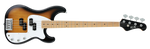 FGN Bassgitarre, J-Standard Mighty Power, 2-Tone Sunburst, Tasche