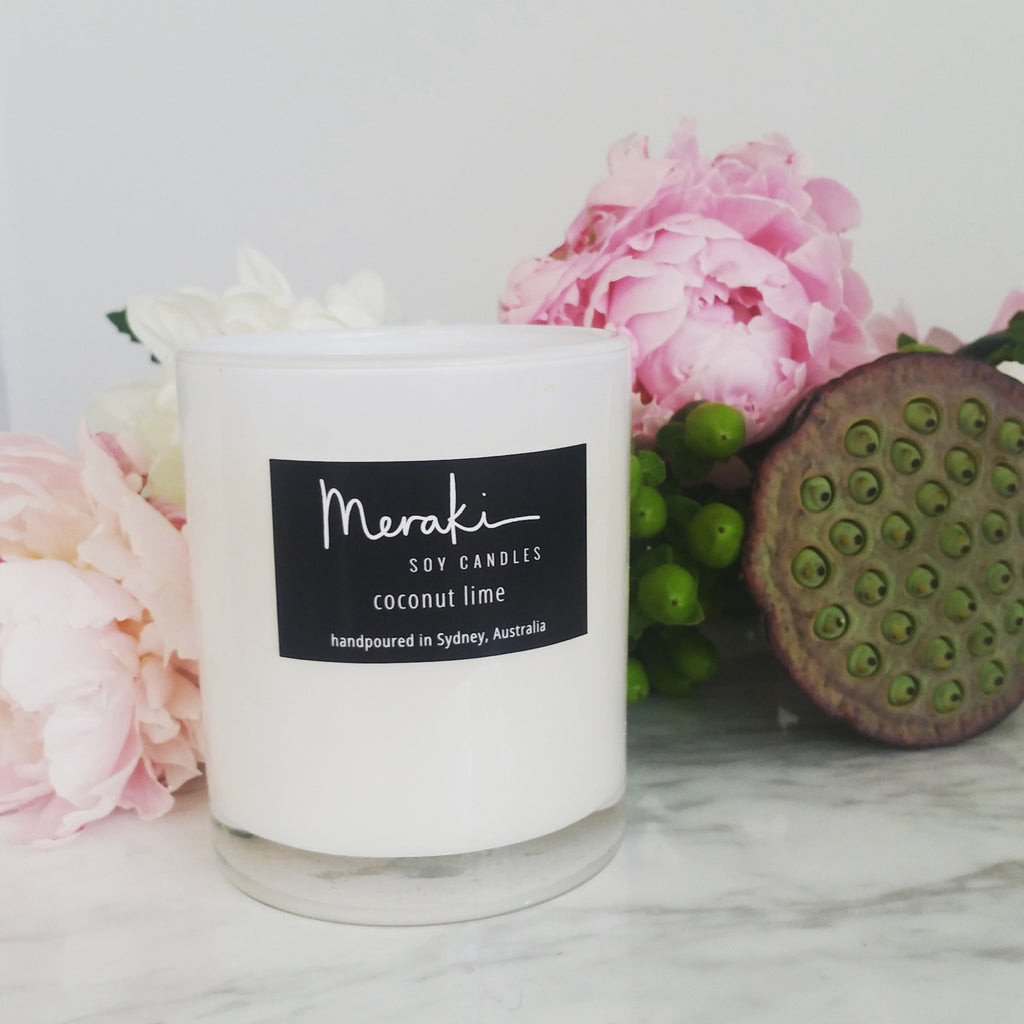 luxe soy candle