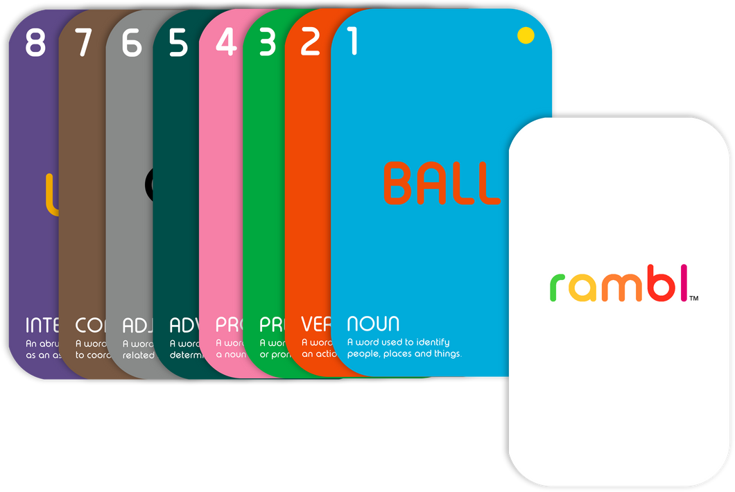 Twiddl™ - Rambl, Early Learning Educational Card Game & Flashcards