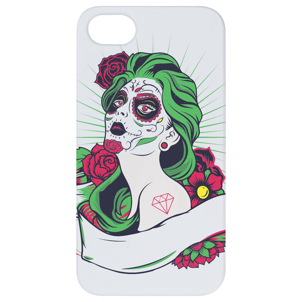 Day of Dead Girl - UV Color Printed 1