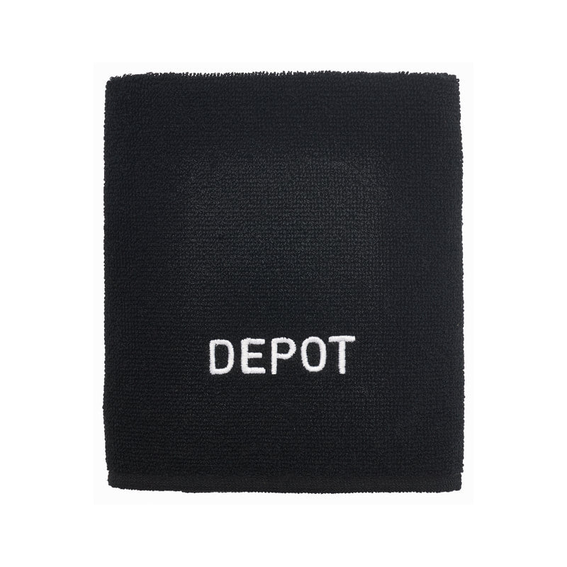 DEPOT NO. 714 BLACK HAIR TOWEL