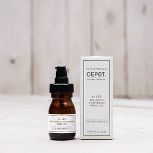 NO. 403 PRE-SHAVE & SOFTENING BEARD OIL sweet almond 30 ML