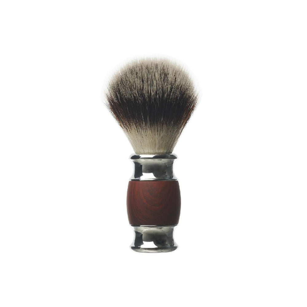 Load image into Gallery viewer, DEPOT NO.731 WOOD & STEEL LUXURY SHAVING BRUSH