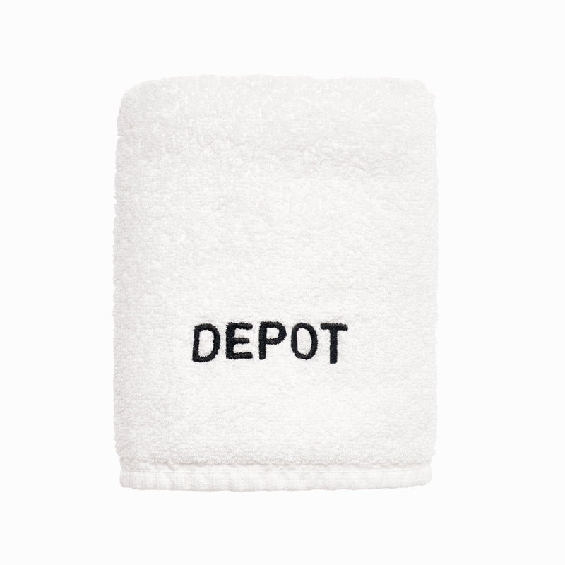 DEPOT NO. 712 WHITE FACE TOWEL