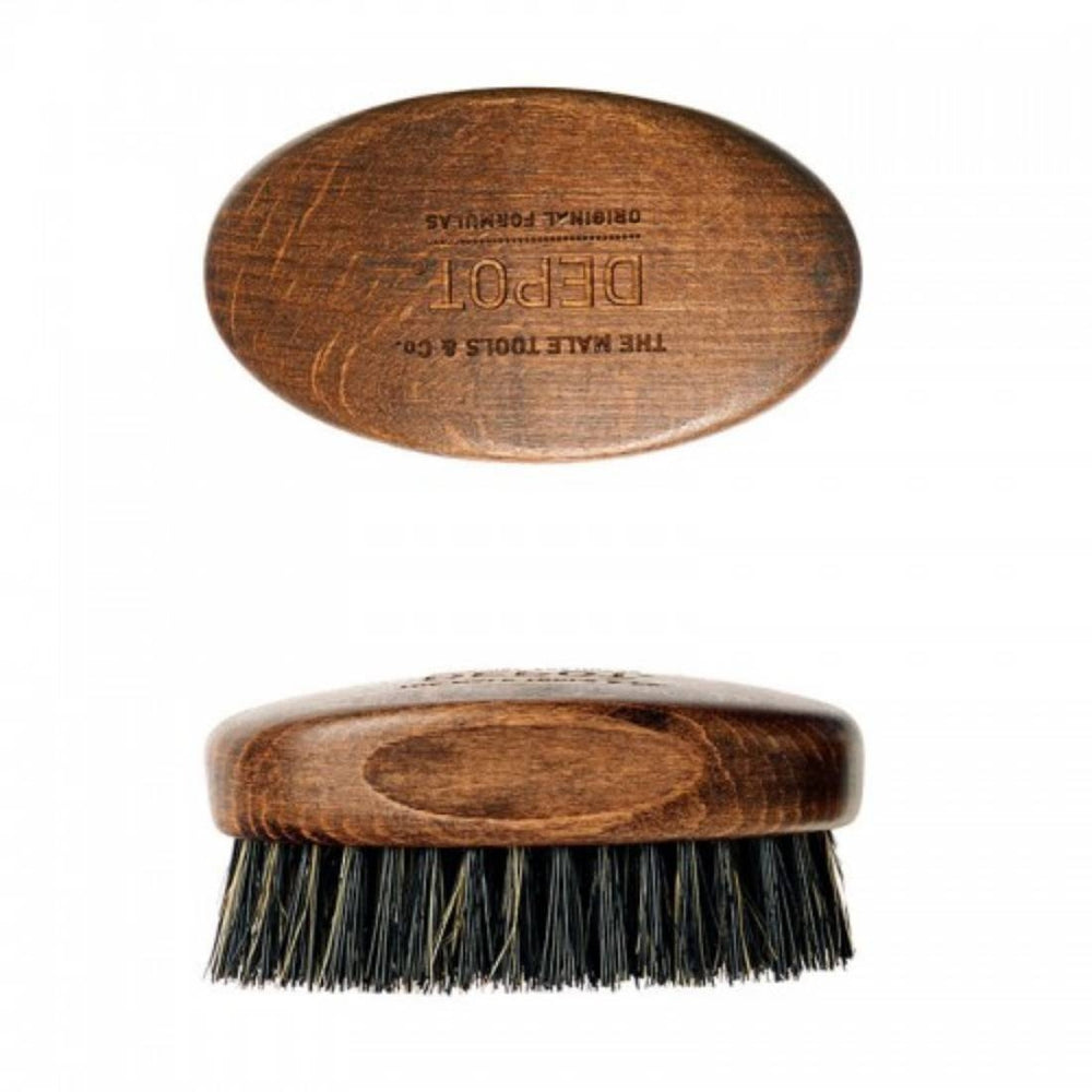 DEPOT NO.722 WOODEN BEARD BRUSH