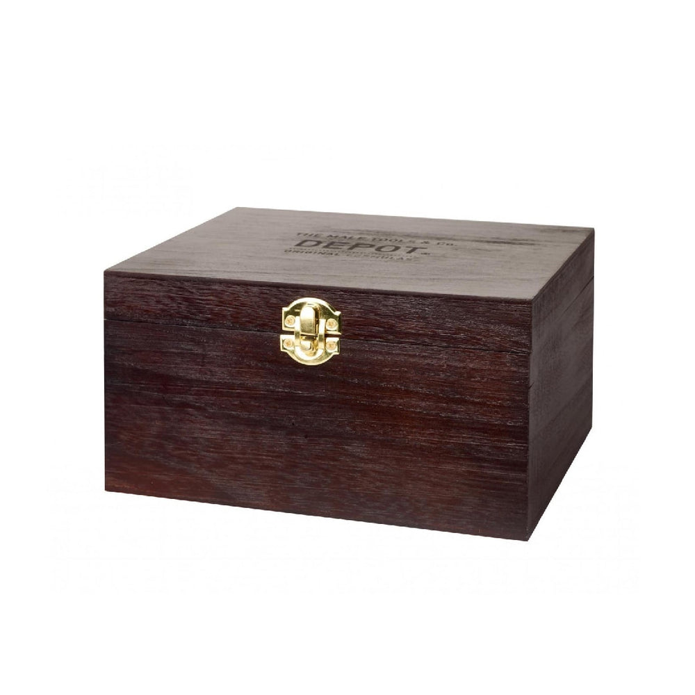 Load image into Gallery viewer, DEPOT WOODEN GIFT BOX .L (23X19X16)