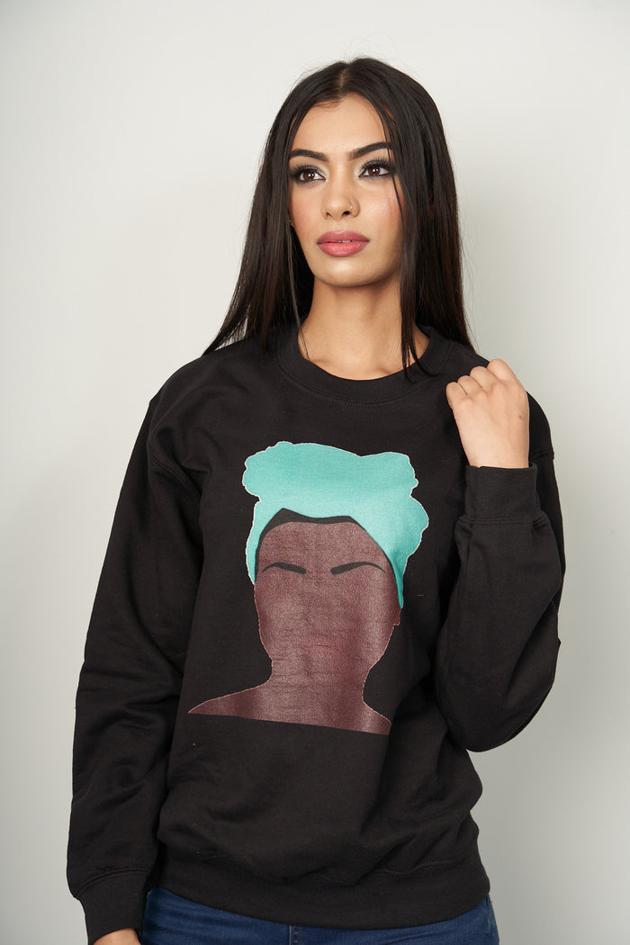 Graphic rural woman Sweatshirt