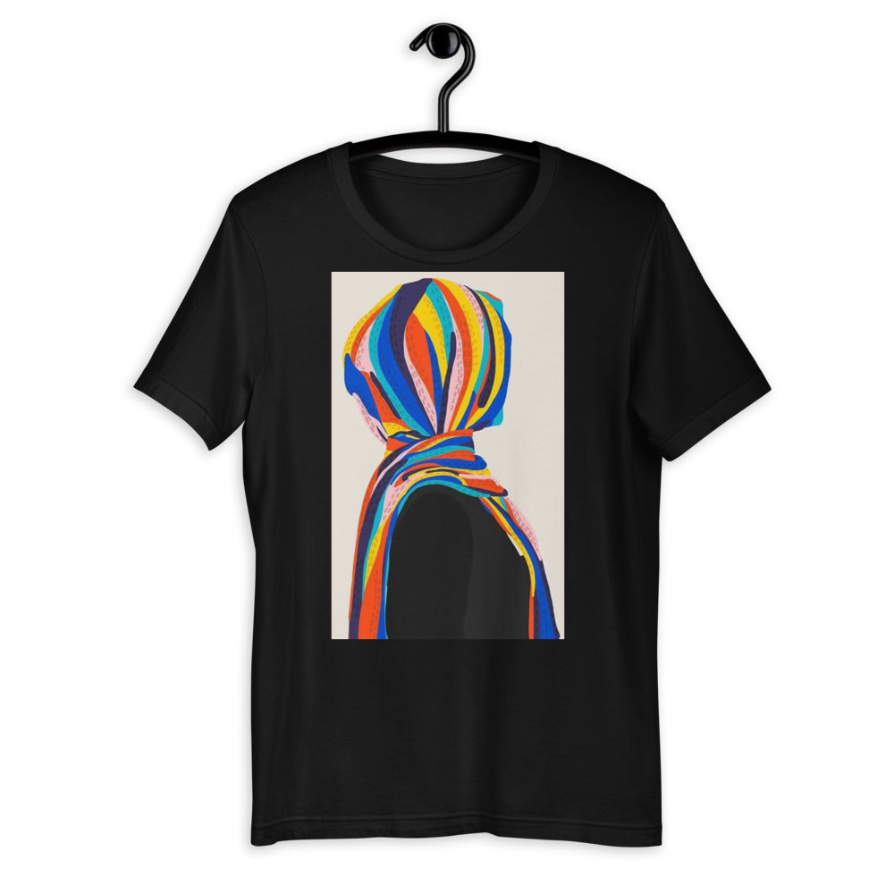 Abtract hijab illustration Organic Cotton T-Shirt