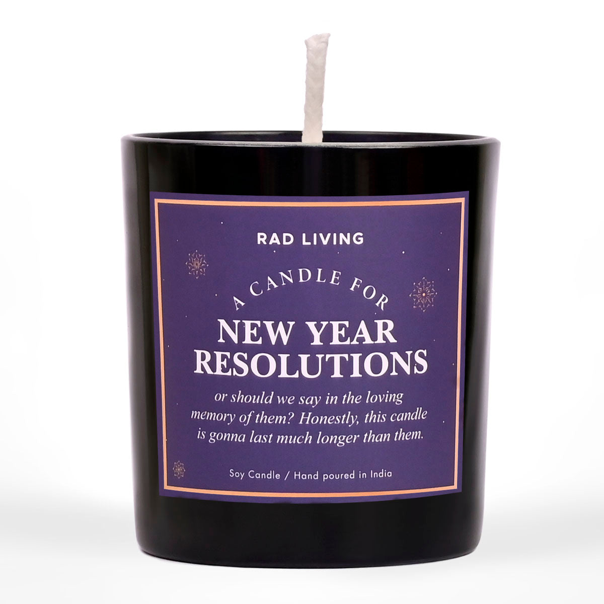 New Year Resolutions - Hot Cocoa Scented Candle