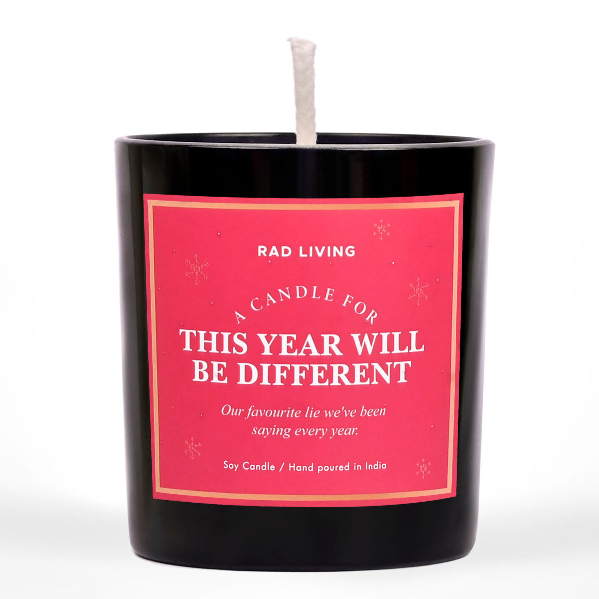 This Year Will Be Different - Saltwater Sea musk Scented Candle