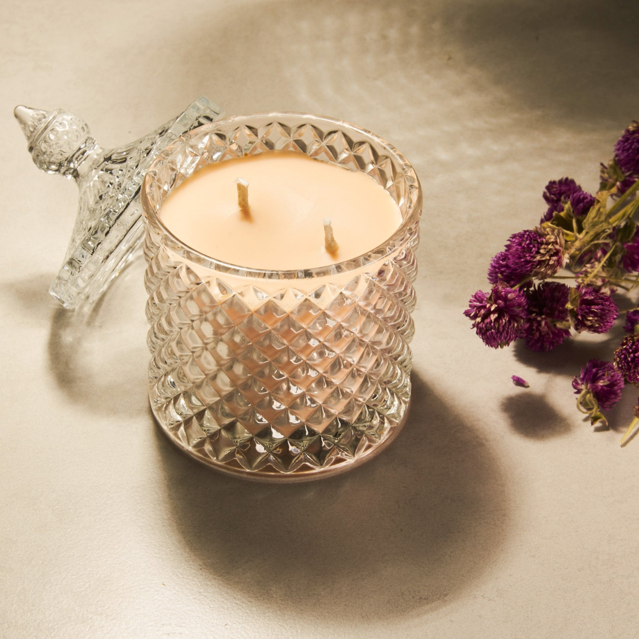Eternal Gift Set of 2 Decorative Jars and 5 Pillar Candles - Rad Living