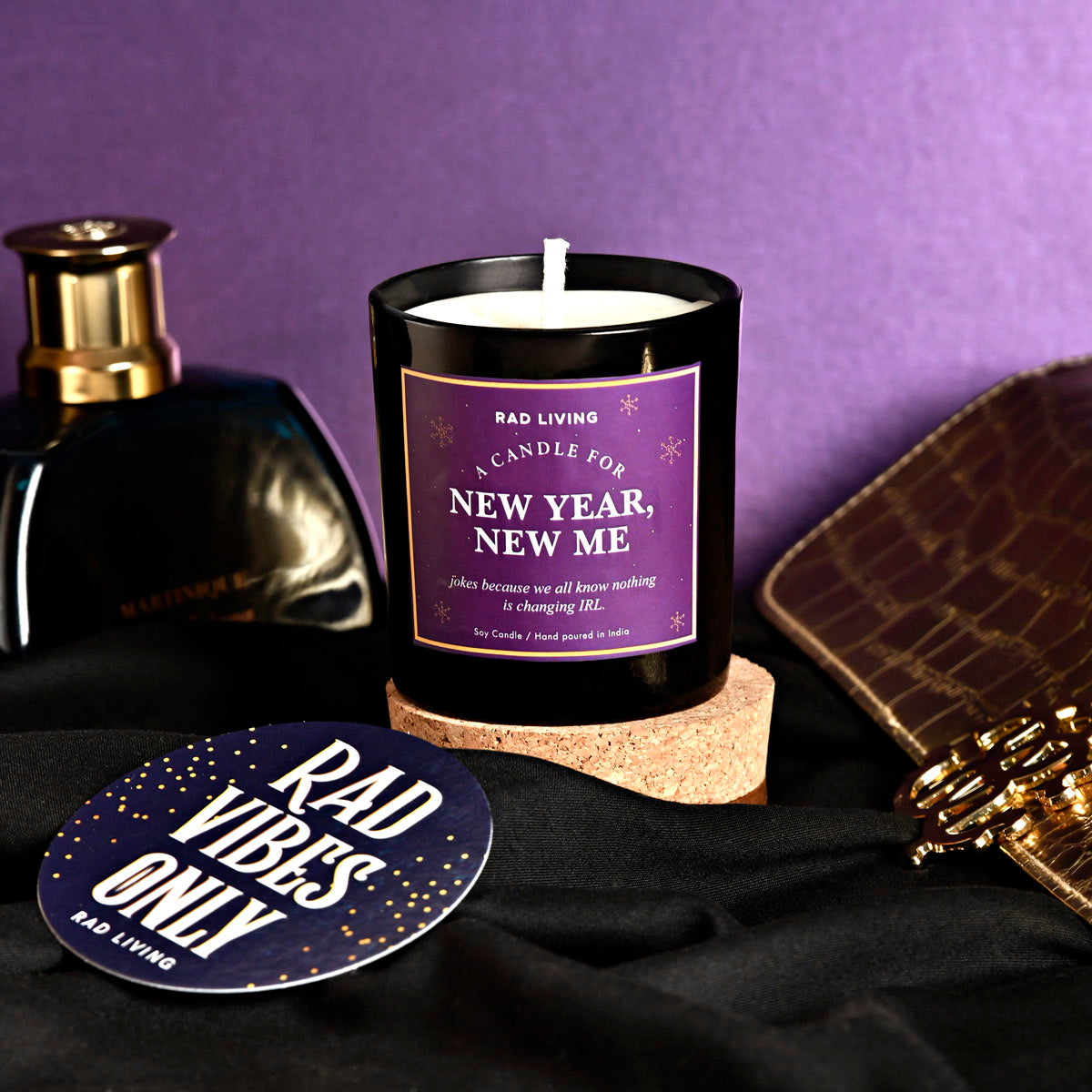 New Year, New Me - Sweet Plum Wine Scented Candle