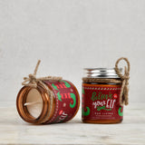 Set of 4 Scented Candle Jars with Lid - Oh What Fun!