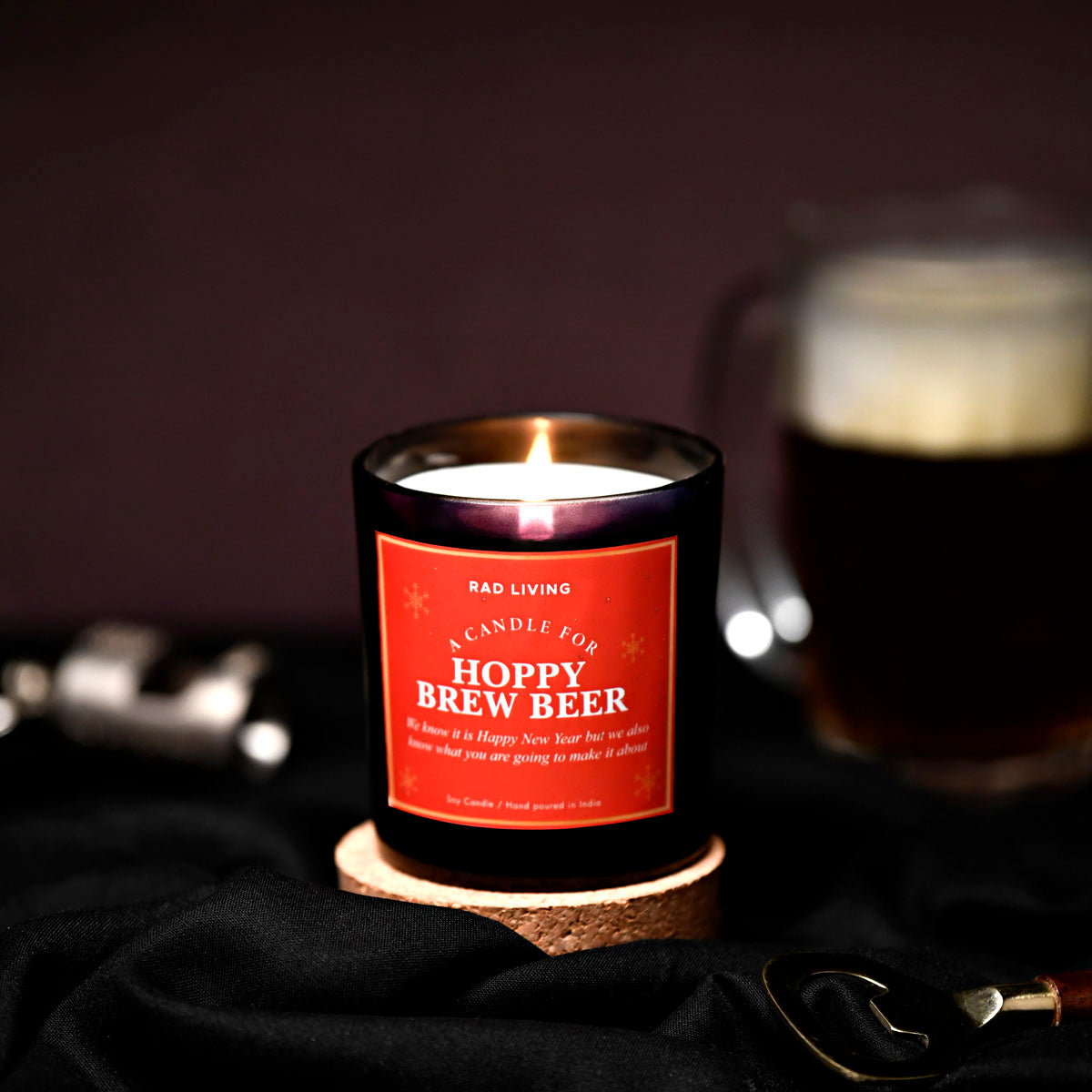Hoppy Brew Beer - Beachwood Scented Candle