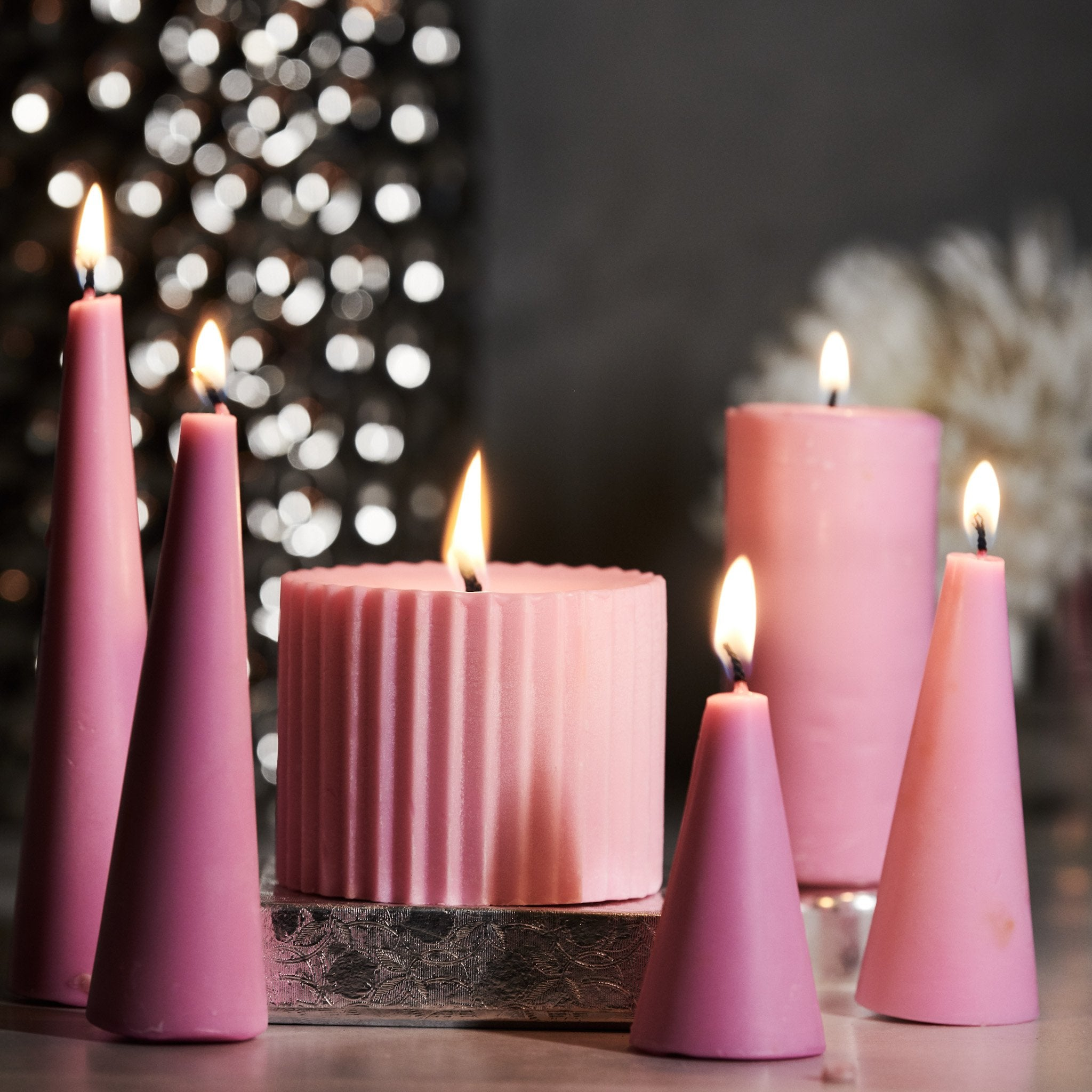 Candles for Diwali Decorations Online.