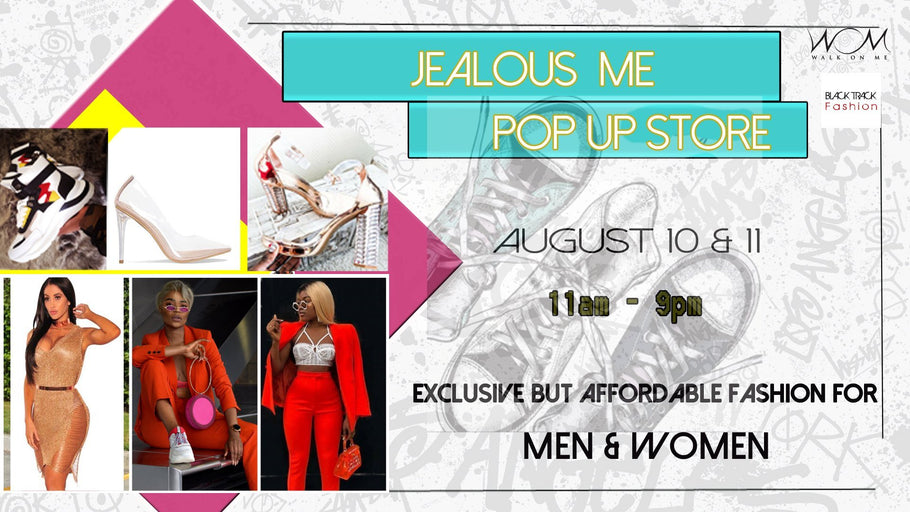 Jealous Me - Fashion Pop-Up Store 10 & 11 August