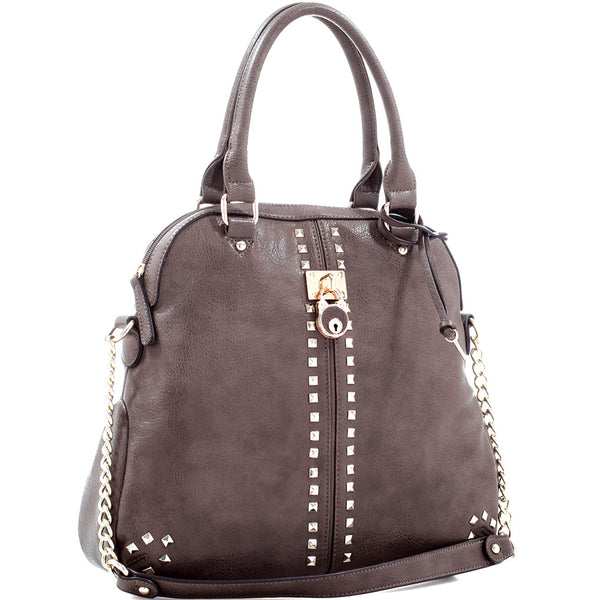 Concealed Carry Ambidextrous Designer Inspired Satchel Handbag w/ Holster