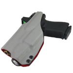 2 Tone IWB Weapon Light Holster (Standard Ride Hight & Deep Concealment)