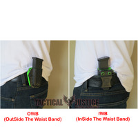 Slim Line Single Color IWB/OWB Magazine Carrier