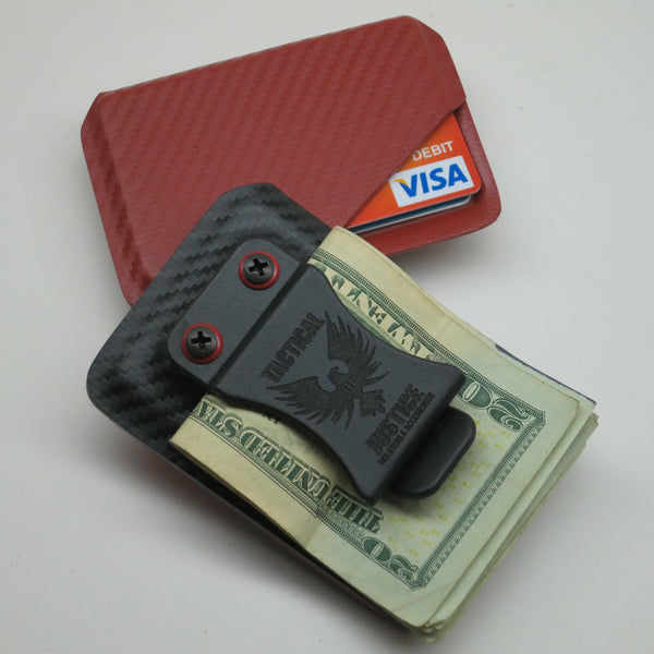 One Color Tactical Kydex Wallet S Tactical Justice