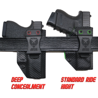 Single Color IWB Weapon Light Holster (Standard Ride Hight & Deep Concealment)