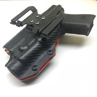 The Open Range - 2 Tone Weapon Light OWB Holster