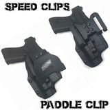 Combat Scars-2 Tone Open Range Weapon Light OWB Holster