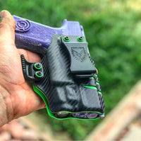 Combat Scars- 2 Tone IWB Weapon Light Holster (Standard Ride Hight & Deep Concealment)