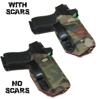 2 Tone IWB Holster's (Optional Scars)