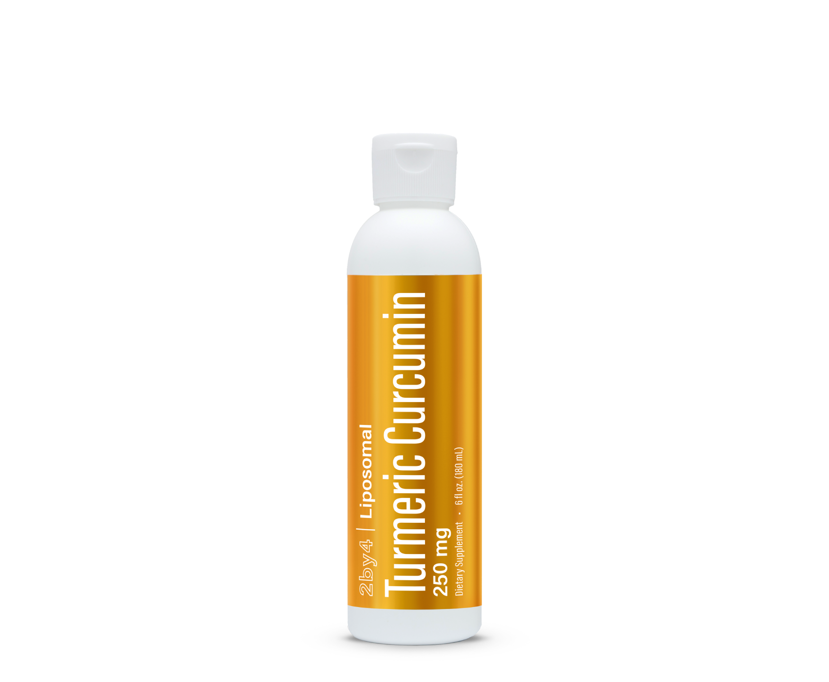 2by4 Liposomal Turmeric Curcumin - with Nutristack Technology
