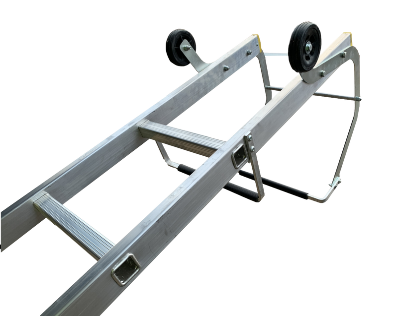 LFI Pro Single and Double Section Roof Ladders - 3.0m - 7.5m.