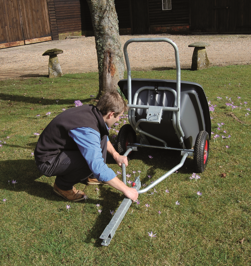 Henchman Wheel Barrow 350/200 Jaw Connection Tow Bar