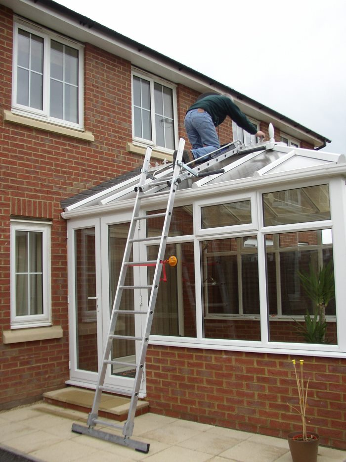 Easi-Dec  Conservatory Roof Access/Maintenance Ladder