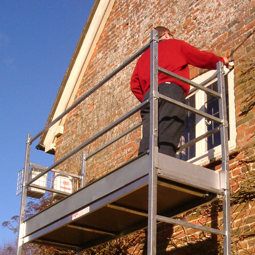 Henchman Wheeled Garden Platform Extra Guard Rails