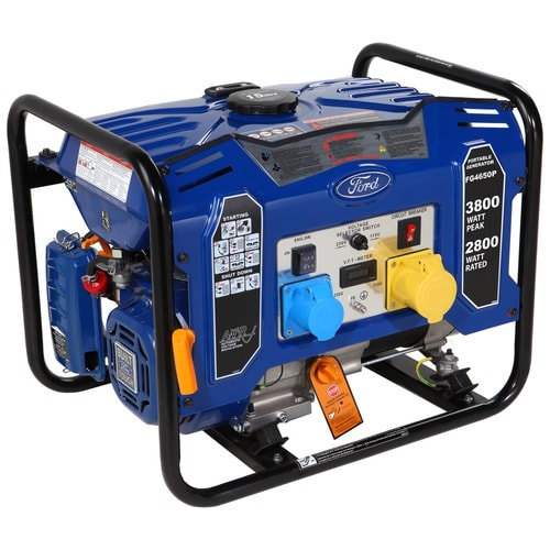 Ford FG4650PE Petrol Generator -3.0kW   OUT OF STOCK